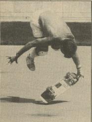 Carson Velodrome - Freestyle Skateboard-  Rodney Mullen