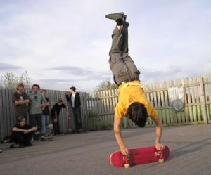 Adam Levy - Rail Handstand, BFSN