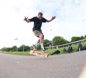 Denham Hill - Crossfoot Railflip