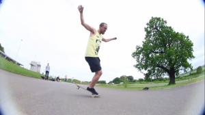 Tony Gale Freestyle Skateboarding