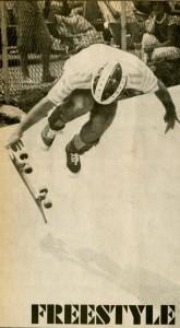 Del MAr 1981 - Steve Rocco Freestyle Skateboarding