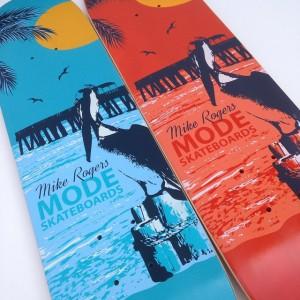 Mode Skateboards - Mike Rogers Freestyle Skateboard