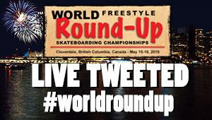 World Round Up Freestyle Skateboarding