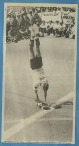 Per Welinder Freestyle Skateboarding - English Handstand