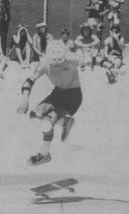 Rodney Mullen Del Mar Skateboard 1983