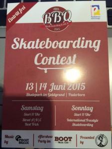 Paderborn BBQ Skateboard Contest 2015