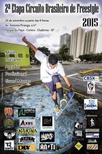 2 Etapa do Brasileiro de Freestyle Skateboard 2015