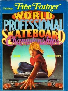 Free Former Professional Skateboard World Championships 1976
