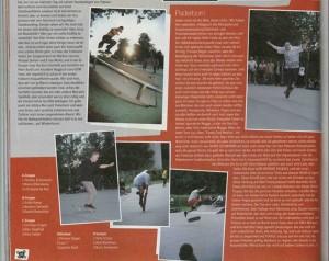 Paderborn Freestyle Skateboarding 2001