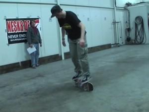 Sennfeld Underground Freestyle Skateboard Contest 2009