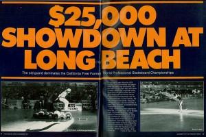 Freestyle Skateboard World Championships 1977