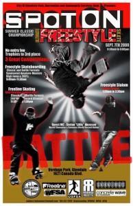 Spot On Glendale Freestyle Skateboard Contest  2008