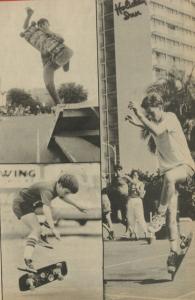 Embarcadeo Freestyle Skateboarding Contest 1984 - Bob Schmelzer