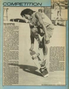 NSA Paramount 1983 - Freestyle Skateboard Contest - Primo Desiderio