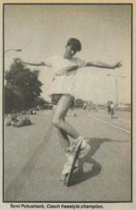 Czechoslovakian Skateboard Championships 1985
