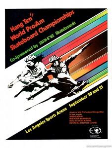 Hang Ten World Pro-Am Skateboard Championships 1975