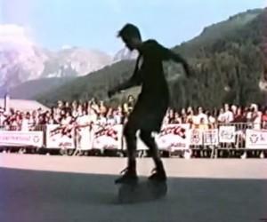 Le Grand Bornand freestyle skateboard contest - Pierre Andre Senizergues