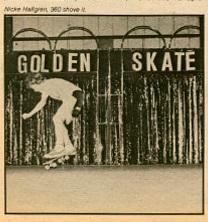 Swedish Skateboarding Championships 1981