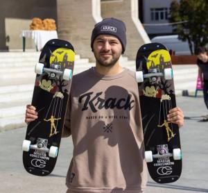 Marius Constantin - Freestyle Skateboard