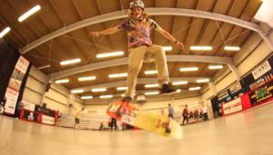 Andy Anderson - Kickflip to Rail