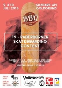 Paderborn freestyle skateboard 2016
