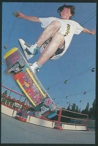 Italia 1990 skateboard contest